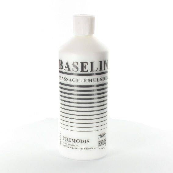 Baselin massagemilk 500 ml. per fles