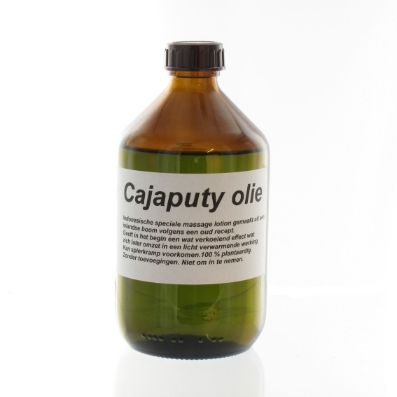 Cajaputty olie 500 ml.