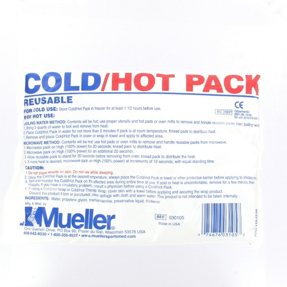 Mueller cold-hotpack reusable 15 x 22 cm.