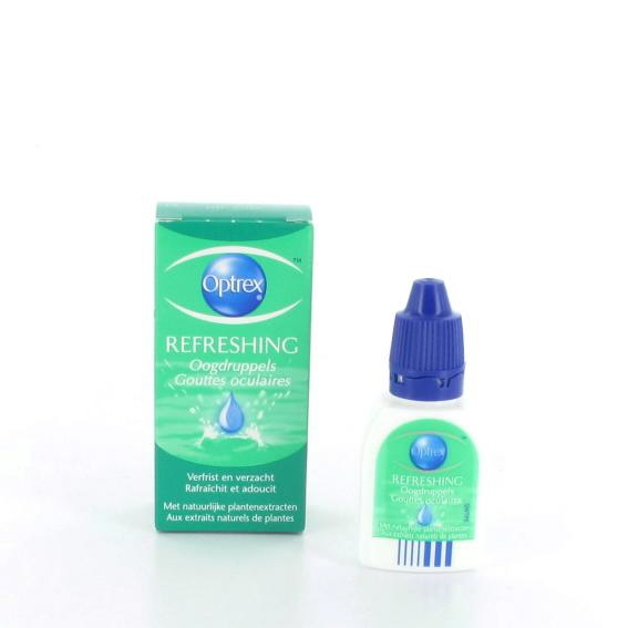 Optrex fresh eye oogdruppels 10 ml.
