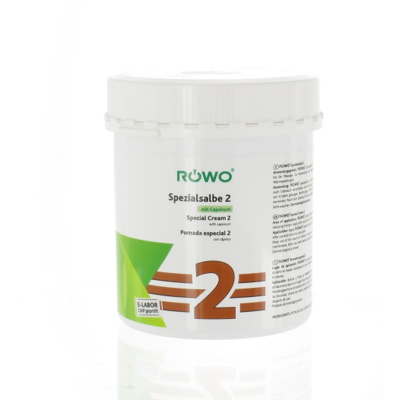 Rowo massagezalf nr. 2 550 ml.