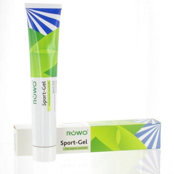 Rowo sportgelei   tube 100 ml.