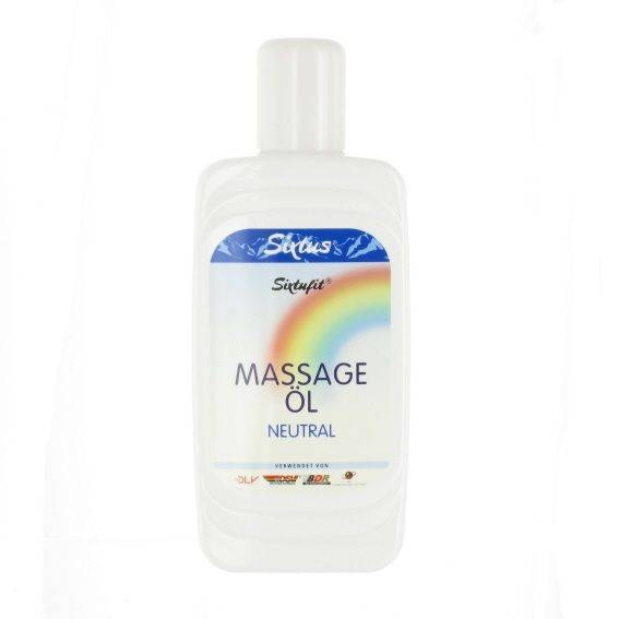 Sixtus massage olie neutraal 500 ml.
