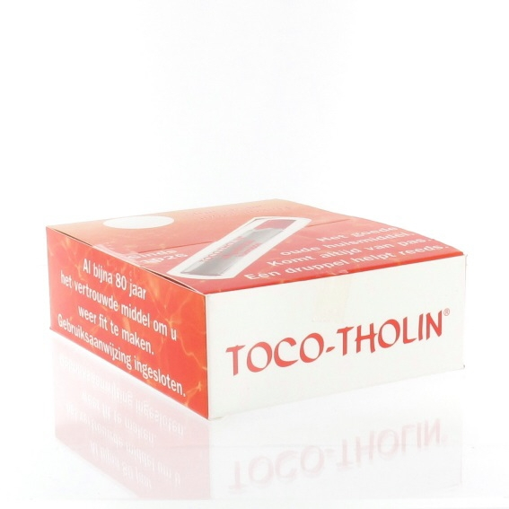 Toco-tholin druppels  6 ml.
