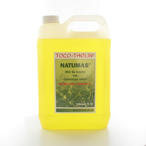Toco-tholin massageolie natumas 5000 ml.