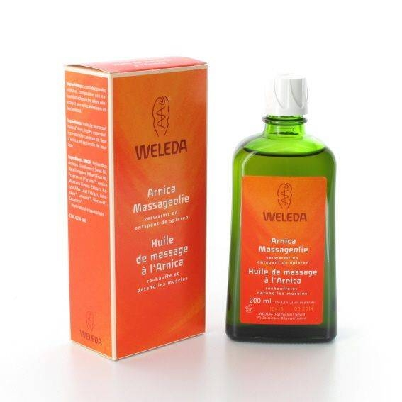 Weleda massage olie met arnica 200 ml.