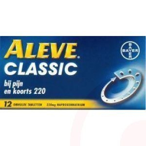 Aleve classic 220 mg. 12 st.