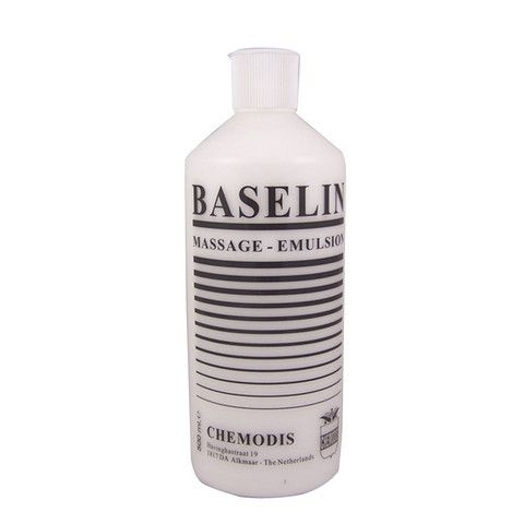 Baselin massage emulsie 500 ml. per fles