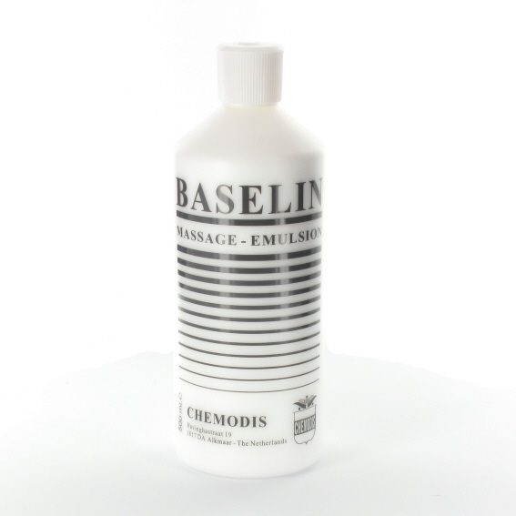 Baselin massagemilk 500 ml per 20 stuks