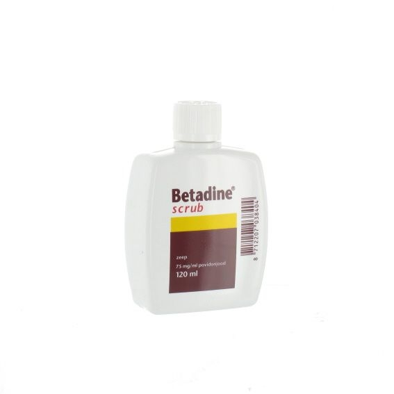 Betadine scrub 120 ml.