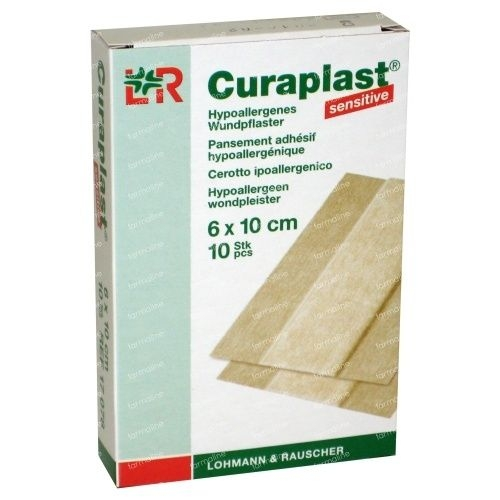 Curaplast sensitive pleister 6 x 100 cm.