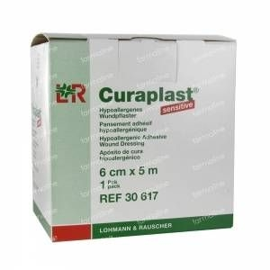Curaplast sensitive pleister 6 x 500 cm.