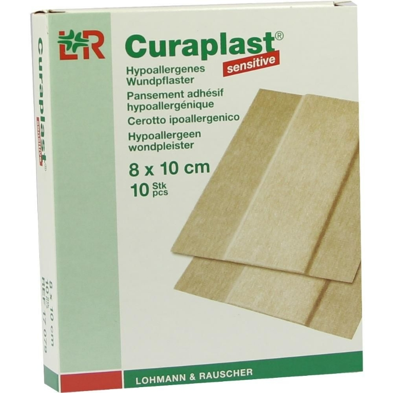 Curaplast sensitive pleister 8 x 100 cm.