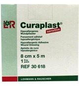Curaplast sensitive pleister 8 x 500 cm.