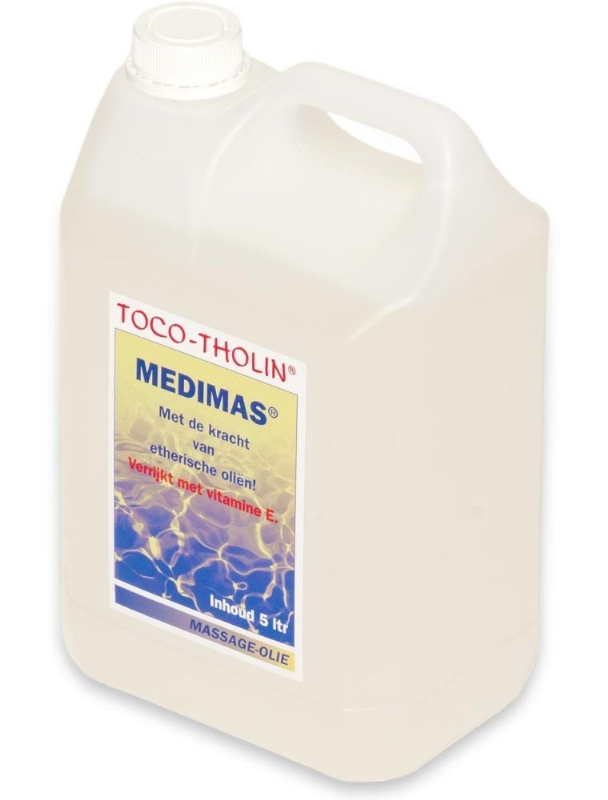 Toco-tholin massageolie medimas 5000 ml.