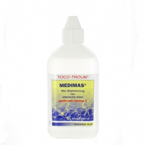 Toco-tholin massageolie medimas 500 ml.
